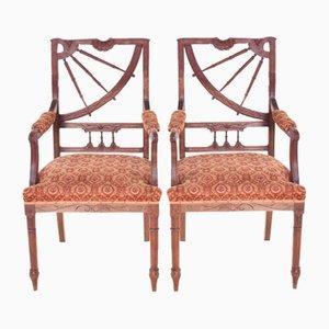 Sedie da pranzo Art Nouveau vintage, set di 2