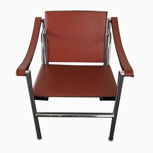 LC1 Armlehnstuhl von Le Corbusier, Pierre Jeanneret & Charlotte Perriand für Cassina, 1980er