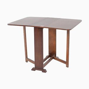 Vintage Drop Leaf 4 Leg Table
