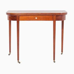 Vintage Sheraton Style Game Table, 1930s