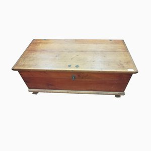 Antique Cherry Linen Chest