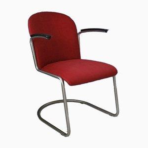 Modell 413 Armlehnstuhl von Willem Hendrik Gispen für Gispen, 1960er