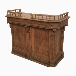 Antique Oak Counter