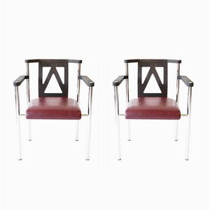 German Armchairs from Kusch+Co, 1980s, Set of 2