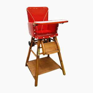 Mid-Century High Chair, 1950s