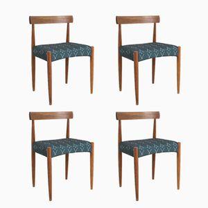 Esszimmerstühle von Arne Hovmand Olsen für Mogen Kolds, 1960er, 4er Set