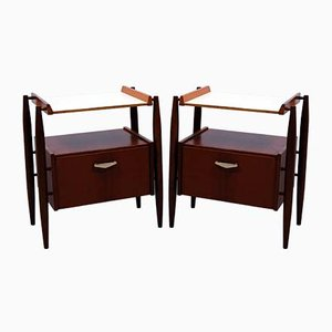 Midcentury Italian Nightstands from Dal Vera, 1960s, Set of 2