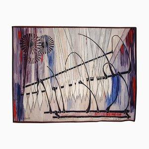 Arazzo di Roger Dudant per Gaspard De Wit, Belgio, anni '60
