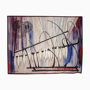 Belgischer Wandteppich von Roger Dudant für Gaspard De Wit, 1960er