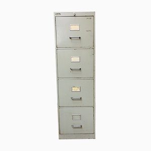Mid-Century Industrial Filing Cabinet from Bolte