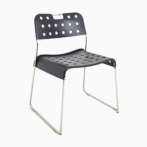 Omkstak Stacking Chair by Rodney Kinsman for OMK, 1970s