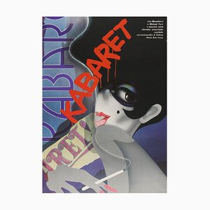 Tschechisches Cabaret Filmposter von Bartosova, 1989