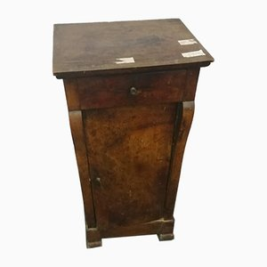 Antique Empire Bedside Table