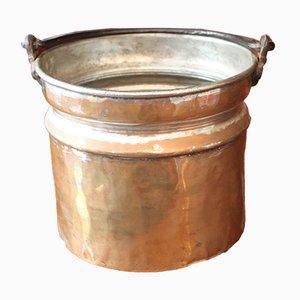 Large Copper Pot, 1800s