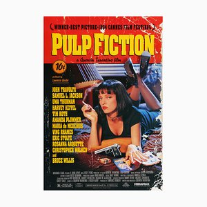 Affiche du Pulp Fiction par James Verdesoto, États-Unis, 1994