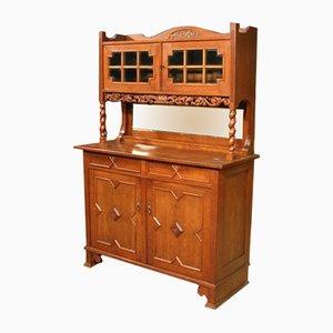 Mueble holandés antiguo de roble