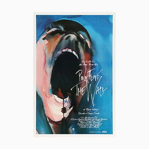 Pink Floyd's The Wall US One Sheet Film Poster by Gerald Scarfe, 1982