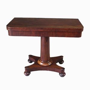 Victorian Mahogany Game Table
