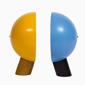 Table Lamps by Antonín Hepnar, 1980s, Set of 2