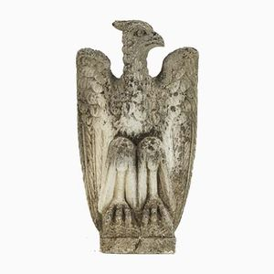 Carved Stone Eagle, 1940s