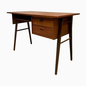 Mid-Century Dutch Teak Desk