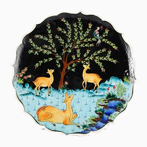 Hand-Painted Turkish Ceramic Plate