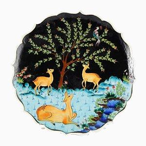 Handbemalter türkischer Keramikteller