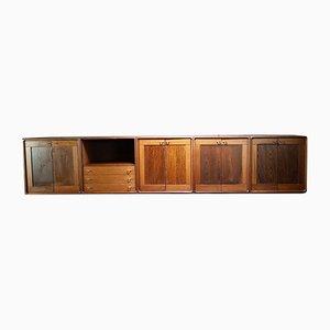 Credenza modulare di Jørgen Kastholm per Gordon Russell, anni '70, set di 5
