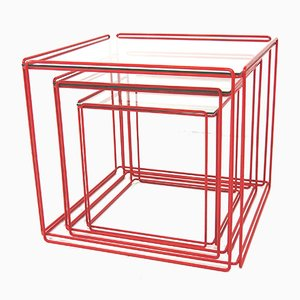 Nesting Tables by Max Sauze for Atrow, 1970s