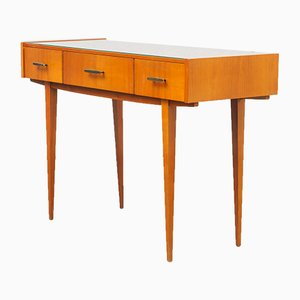 Cherry Wood Console, 1960s