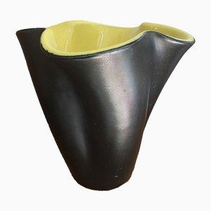 Vaso in ceramica di Elchinger, anni '50