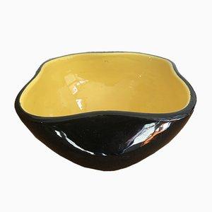 Cuenco de cerámica de Keramos, años 50