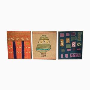 Vintage Wandteppiche von Simone, 1970er, 3er Set