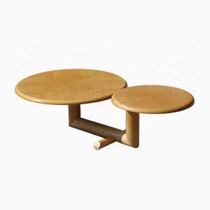 Couchtisch mit zwei Tischplatten, 1970er