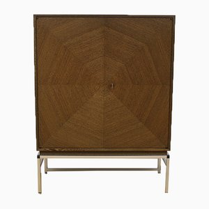 Wenge Highboard from Wörner, 1960s