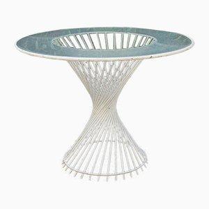 Mesa de jardín Antheor de Mathieu Matégot, años 50