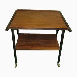 Vintage Teak Television Table, 1960s