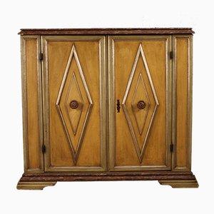 Lackiertes italienisches Sideboard aus Holz, 1950er
