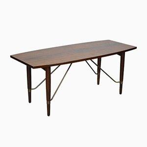 Tavolino da caffè vintage in palissandro, anni '60