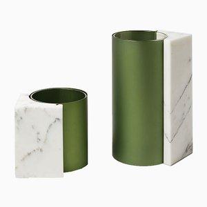 Vases Rational Balance par Ferdinand Pezin pour Ecal x Bloc studios, 2016, Set de 2
