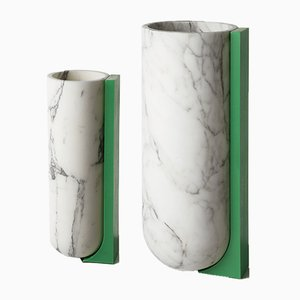 Cale Vases by Jasmina Celikovic for Ecal x Bloc studios, 2016, Set of 2