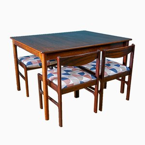 Rosewood Dining Room Set from McIntosh, 1960s