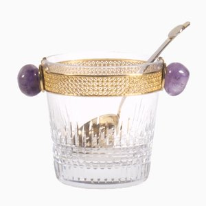 Nancy Ice Bucket with Ladle from Baccarat, 1960s