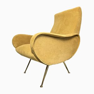 Italian Lounge Chair by Marco Zanuso, 1960s