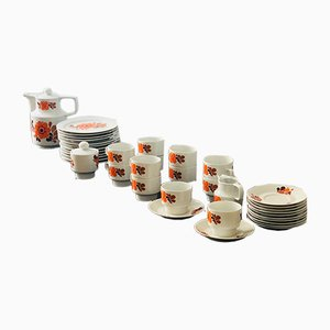 Vintage Coffee or Dessert Service, 1970s