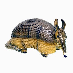 Ceramic Armadillo from Ronzan, 1970s