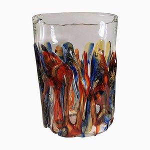 Handmade Murano Vase from Maestri Muranesi, 2002