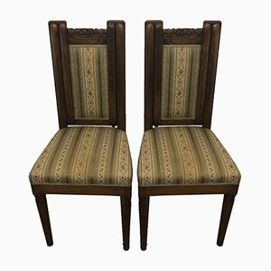 Art Deco Chairs, Set of 2