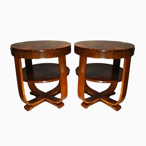 Vintage Austrian Side Tables, Set of 2