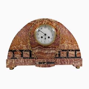 Horloge de Table Vintage en Marbre, France
